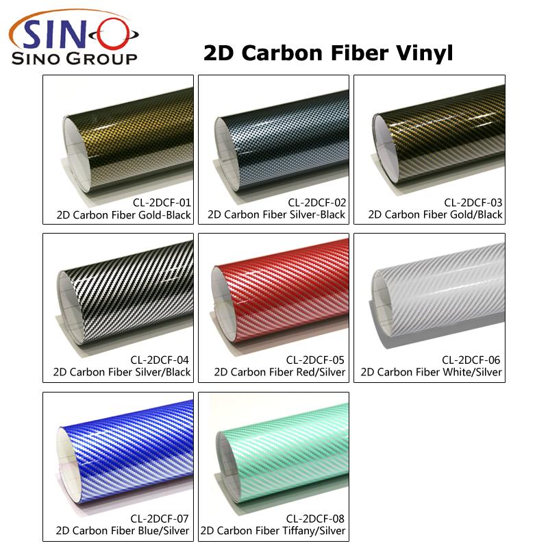CL-2DCF 2D Kohlefaser vinyl foile
