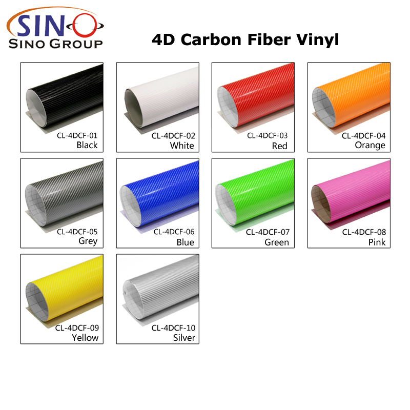 CL-4DCF 4D Kohlefaser Vinyl