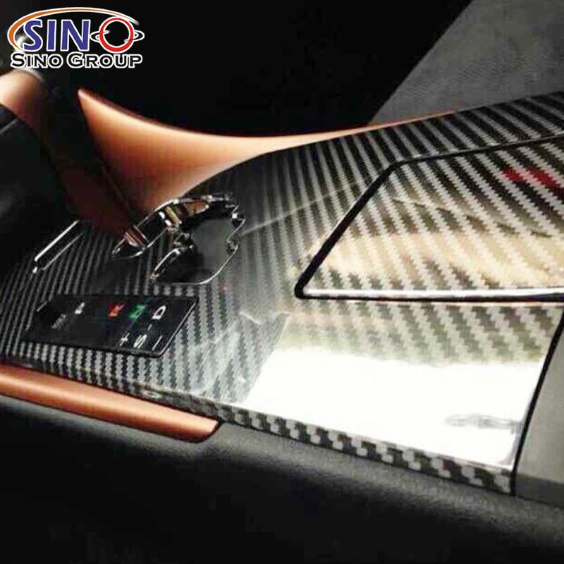 CL-5DCF 5D Kohlefaser-Vinyl foile