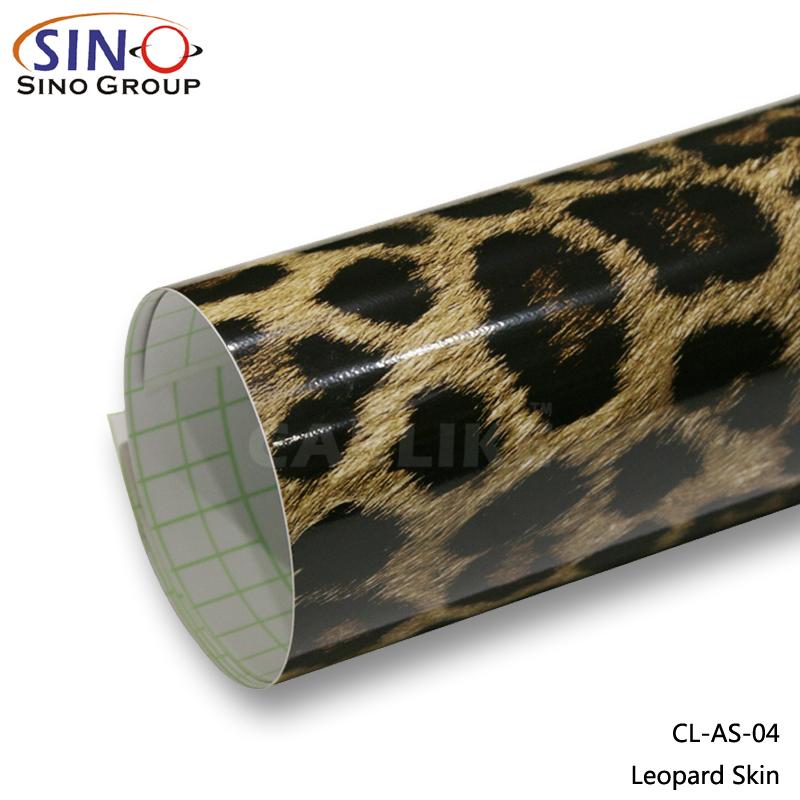 CL-AS Tier Haut Vinyl Auto Verpackung Aufkleber