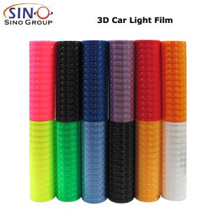 CARLIKE CL-HL 3D Lens PVC Car Headlight Tint Sticker Film