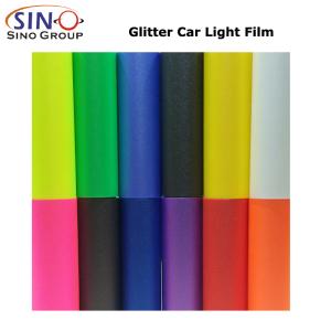 CARLIKE CL-HL-GL Glitter Light Film Car Headlight Decoration Vinyl Foil