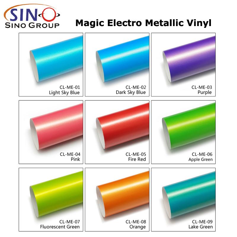 CL-ME Zauber Electro Metallisch Aufkleber für Fahrzeugverkleidung
