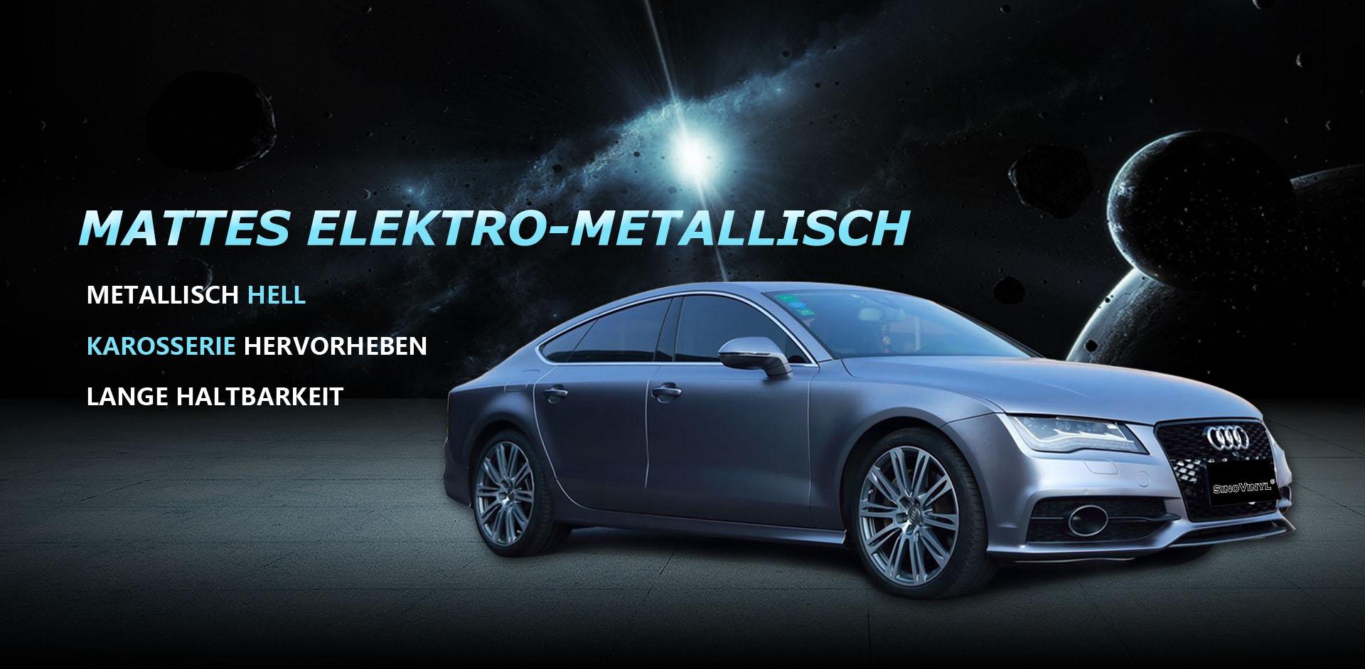 CARLIKE CL-EM Matt Elektro Metallic Auto wickeln