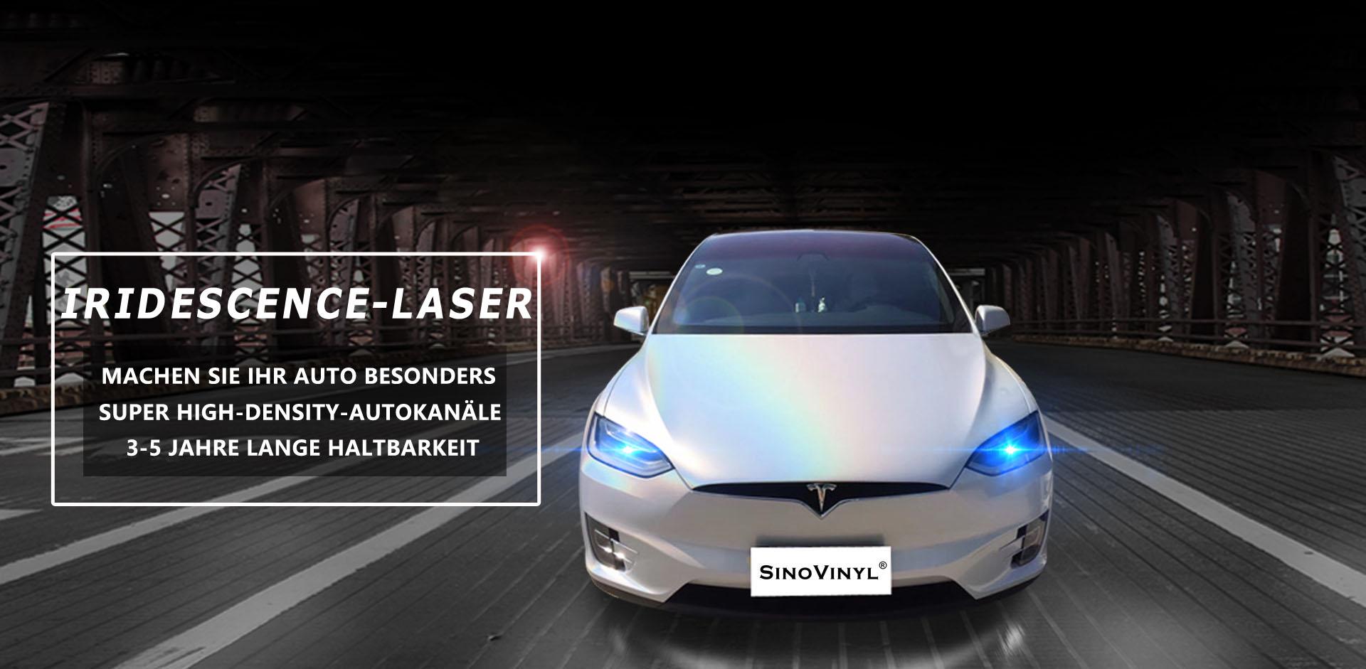 CARLIKE CL-IL Irisieren Laser Funkeln Auto Wickeln Vinyl Aufkleber